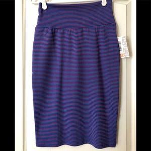 🔷 NWT LulaRoe Cassie Skirt